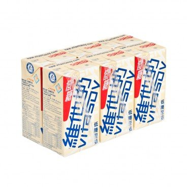 VITASOY - Soya Bean Milk low Sugar - 250MLX6