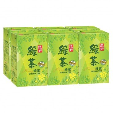 TAO TI - Honey Green Tea - 250MLX6