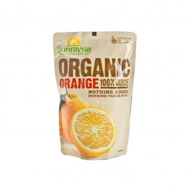SUNRAYSIA - Organic Orange Juice - 200ML