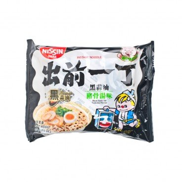 INSTANT NOODLE-BLACK GARLIC OIL TONKOTSU