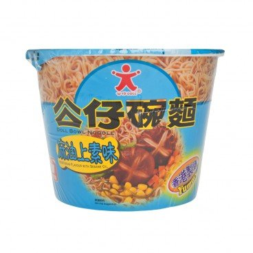 DOLL Bowl Noodle vegetarian With Sesame Oil 107G