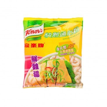 KNORR Quick Serve Macaroni chicken Broth 80G