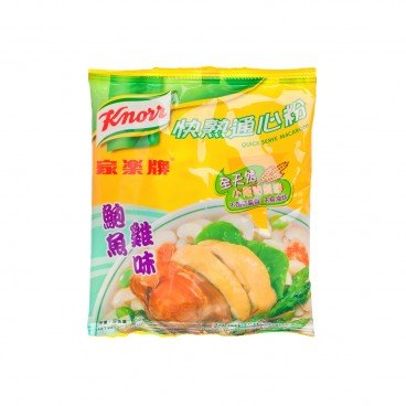 KNORR - Quick Serve Macaroni abalone Chicken Broth - 80G