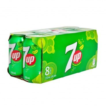 7 UP - Soft Drink - 330MLX8