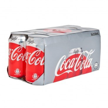 COCA-COLA - Coke Light - 330MLX8
