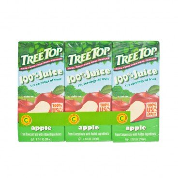 TREE TOP - Apple Juice - 200MLX3