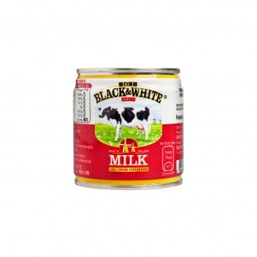 BLACK & WHITE Full Cream Evaporated Milk 170G