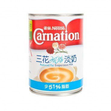 CARNATION - Reduced Fat Evaporated Milk - 410G