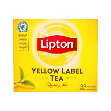 LIPTON Yellow Label Teabags 2GX100