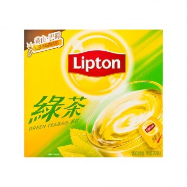 LIPTON Asian Tea Green Teabag 2GX100