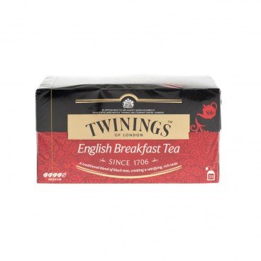 TWININGS English Breakfast Tea 25'S