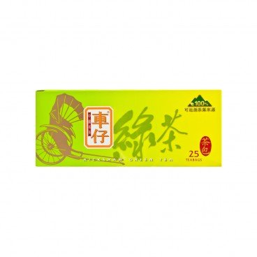 RICKSHAW Chinese Teabags green Tea 2GX25
