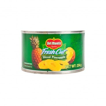 DEL MONTE Sliced Pineapple In Heavy Syrup 234G