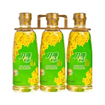 KNIFE - Pure Canola Oil - 900MLX3