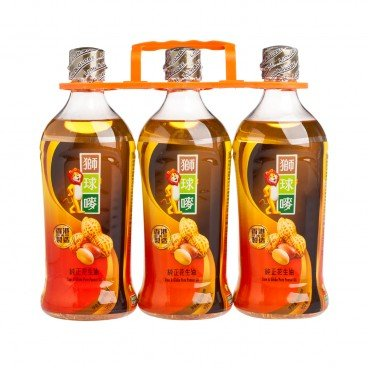 LION & GLOBE Peanut Oil 900MLX3