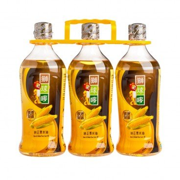 LION & GLOBE Corn Oil 900MLX3