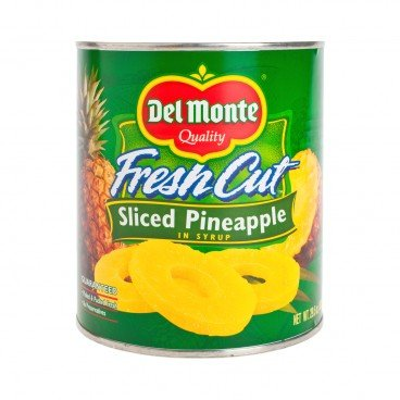 DEL MONTE - Sliced Pineapple In Heavy Syrup - 836G
