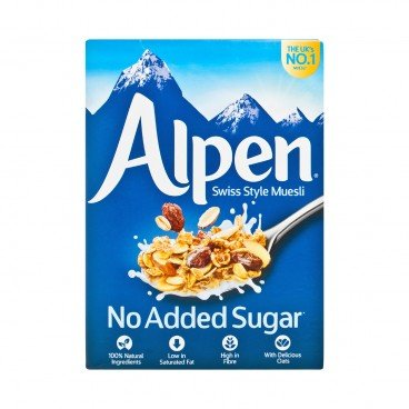 ALPEN Muesli no Sugar Added 560G