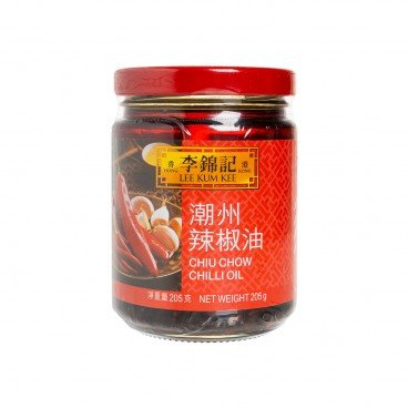 LEE KUM KEE - Chiu Chow Chili Oil - 205G
