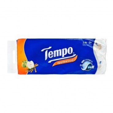 TEMPO得寶 Bathroom Tissue 3 Ply applewood 10'S