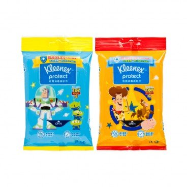 KLEENEX Disney Toy 4 Wipe random Cartoon 10'S