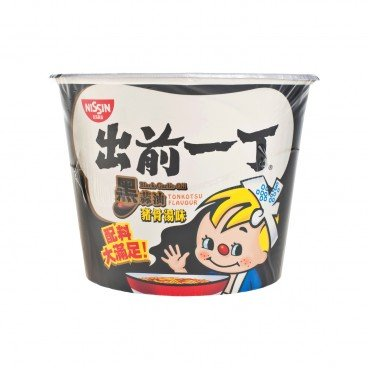 DE-MA-E Bowl Noodle black Garlic Oil Tonkotsu 105G