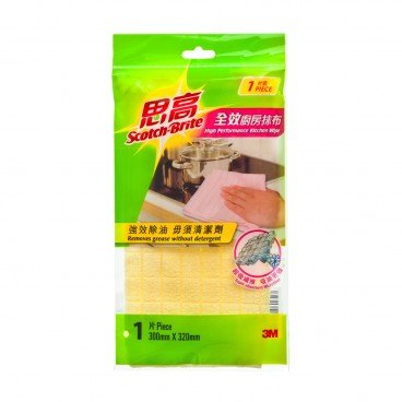 SCOTCH BRITE High Performance Kitchen Wipe PC