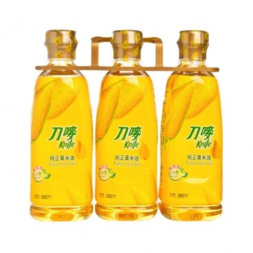 KNIFE - Pure Corn Oil - 900MLX3