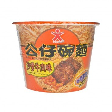 DOLL Bowl Noodle satay Beef 120G