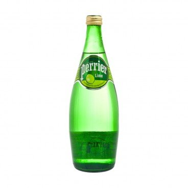 PERRIER Sparkling Mineral Water Twist lime 750ML