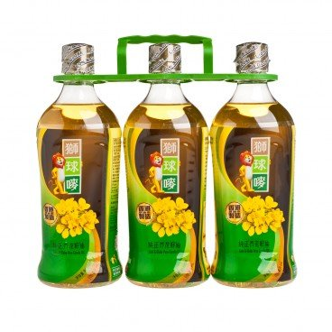 LION & GLOBE Canola Oil 900MLX3