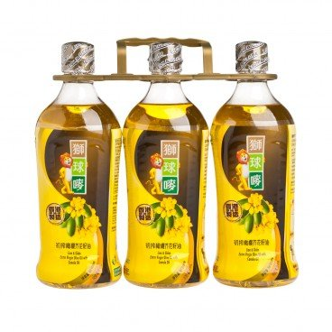 LION & GLOBE - Evo Oil With Canola Oil - 900MLX3