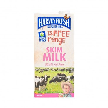 HARVEY FRESH - Skim Milk - 1L