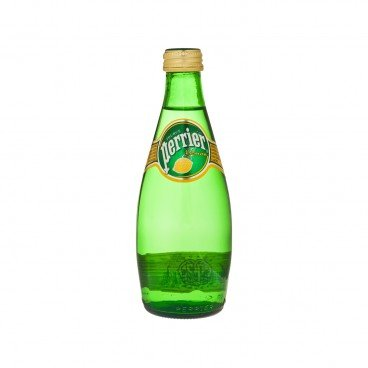 PERRIER Sparkling Mineral Water Twist Lemon 330ML