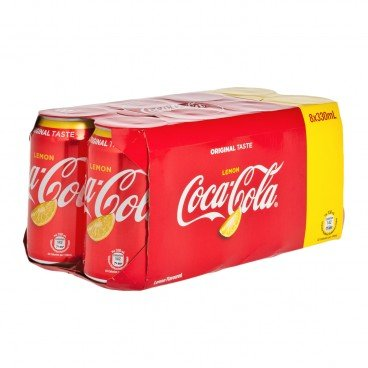 COCA-COLA Lemon Coke 330MLX8