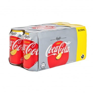 COCA-COLA - Lemon Cok Light - 330MLX8