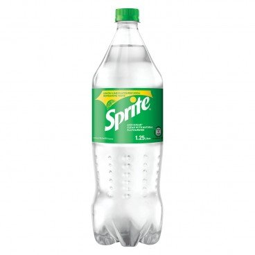 SPRITE - Lemon lime Flavoured Soda - 1.25L