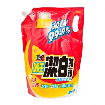 LION TOP - Antibacterial Liquid Detergent Refill Sunshine - 1.8L