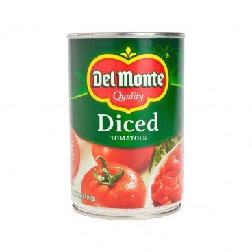 DEL MONTE - Peeled Diced Tomatoes - 14.5OZ