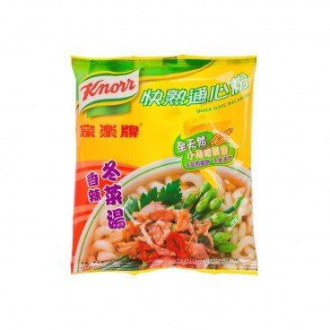 KNORR - Quick Serve Macaroni chili Tung Choi Broth - 80G