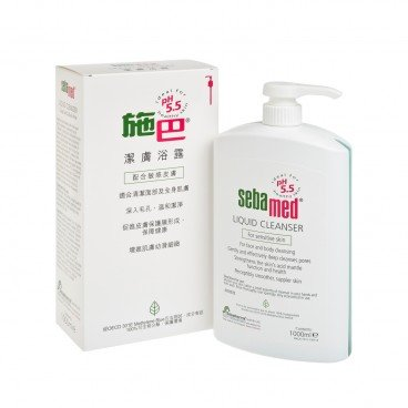 SEBAMED - Liquid Cleanser - 1L