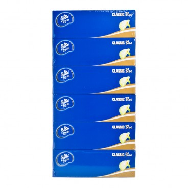 VINDA - Classic Blue Box Facial Tissue - 6'S