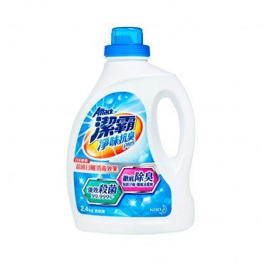 ATTACK Deodorant Plus Liquid Detergent 2.4KG