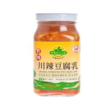 ORGANIC FERMENTED SPICY BEAN CURD