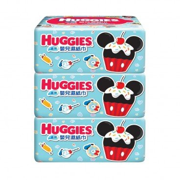 HUGGIES好奇 - Soft Baby Wipes Refill Tripack - 30'SX3