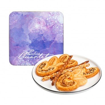 COOKIES QUARTET Assorted Palmier 250G