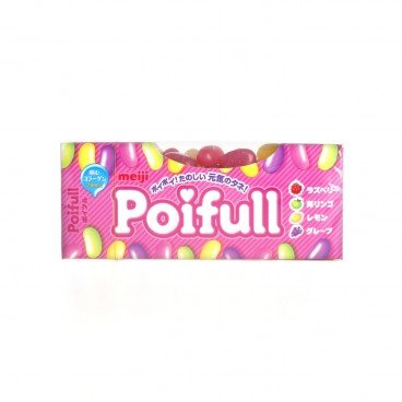 MEIJI Poifull Gummi Fruit Mix 53G