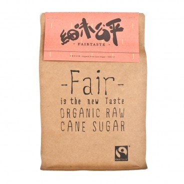 FAIR TASTE - Organic Raw Cane Sugar - 700G