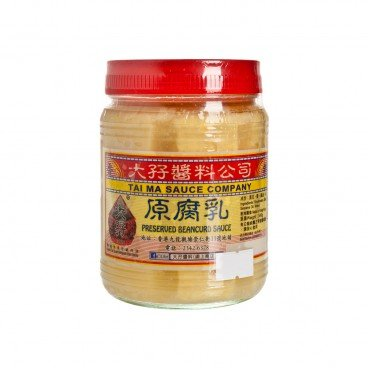 TAI MA - Wet Bean Curd - 340G