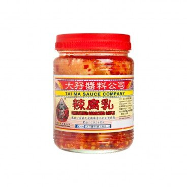 TAI MA - Chili Wet Bean Curd - 340G
